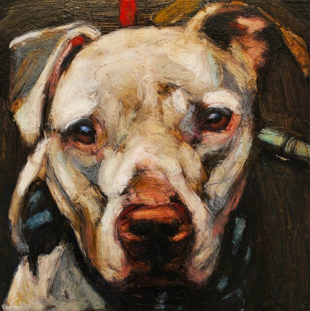Heartbreaking Paintings of Deceased Shelter Dogs