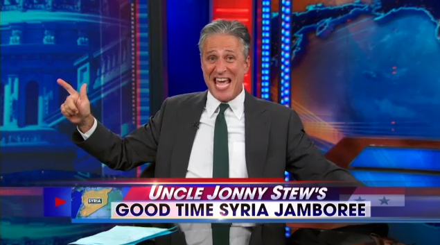 Jon Stewart Dropped Some Truth Bombs On The Whole War With Syria Thing