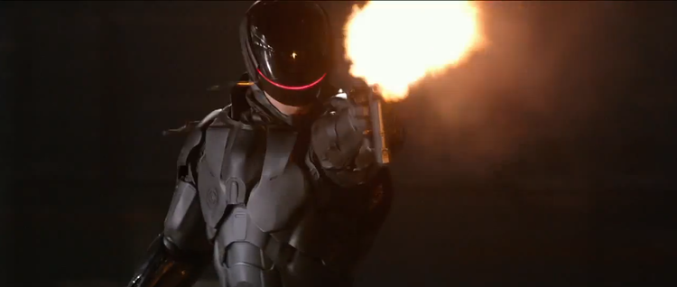 First Awesome Trailer for ROBOCOP!