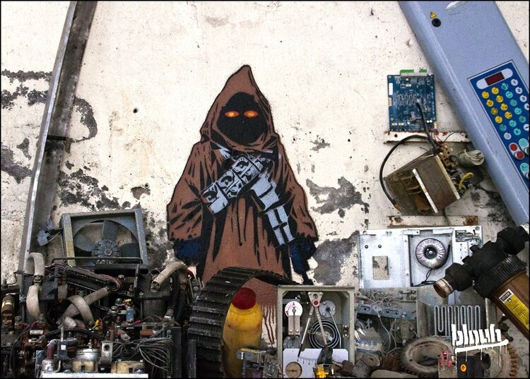 Awesome STAR WARS Street Art