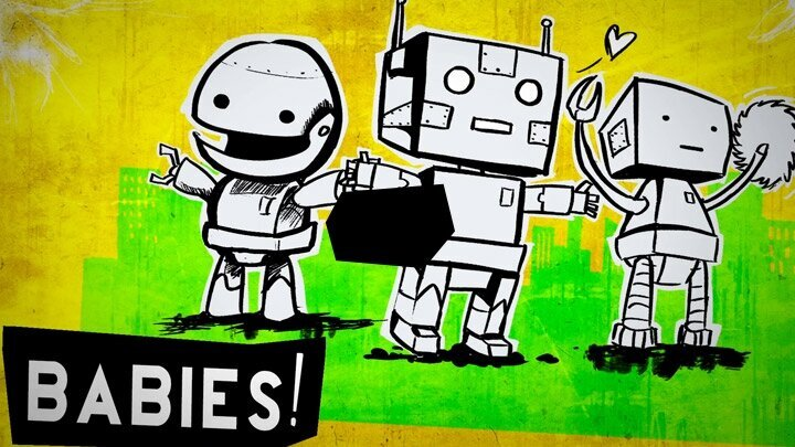 GIANT. ROBOT. BABIES! Punk Rock Music Video