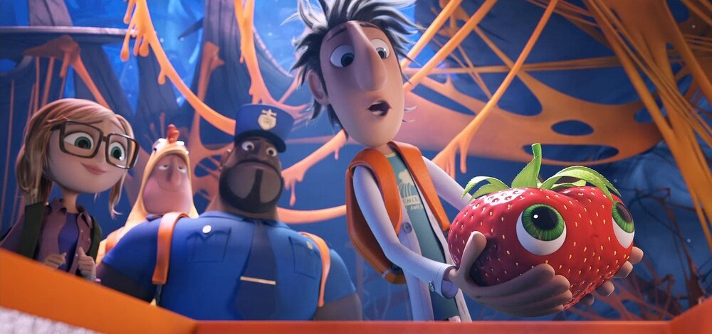 New Funny Clip from CLOUDY WITH A CHANCE OF MEATBALLS 2