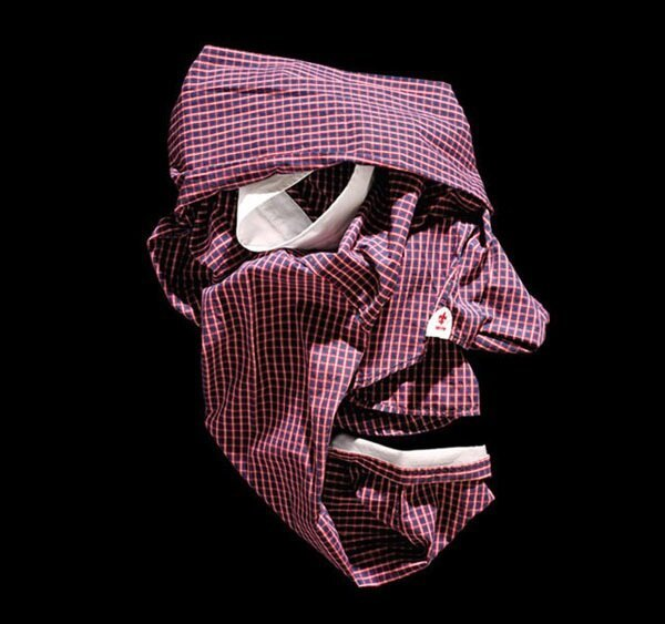 Must-See Freaky Faces Made From Designer Clothes