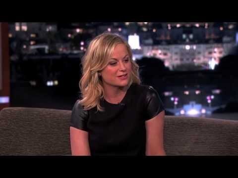 Watch Amy Poehler Impersonate Her Son Saying Spicy Salsa For Kimmel