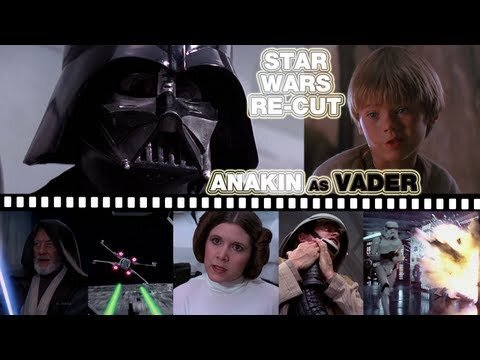 Replace Darth Vader's Voice With Young Anakin's And it = Comedy Gold