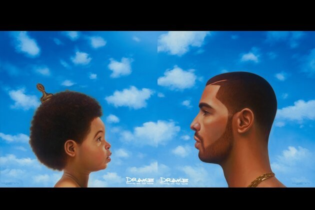 See Drake's 'Nothing Was the Same' Album Cover with Crazy Hairstyles