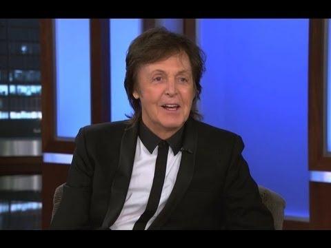 Paul McCartney Pays a Visit to Jimmy Kimmel