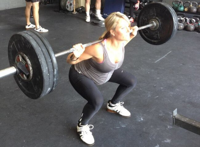 A Pregnant Woman Posted A CrossFit Photo On Facebook, Insults Ensued
