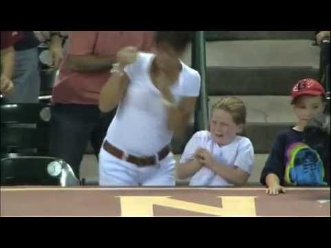 Cold-Hearted Woman Steals Baseball From Little Girl