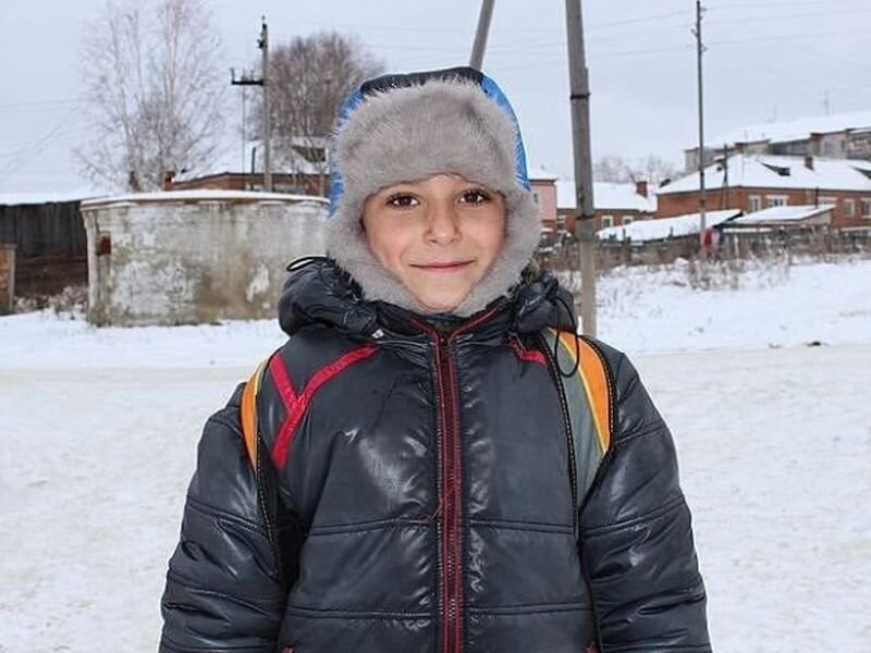 Young Sasha from Tomskiy region became a hero