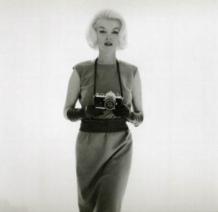The last photos of Merilyn Monroe