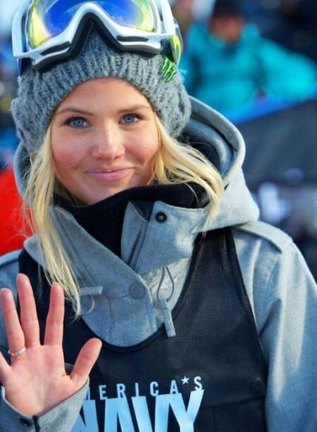 Beautiful female athlets of Sochi 2014