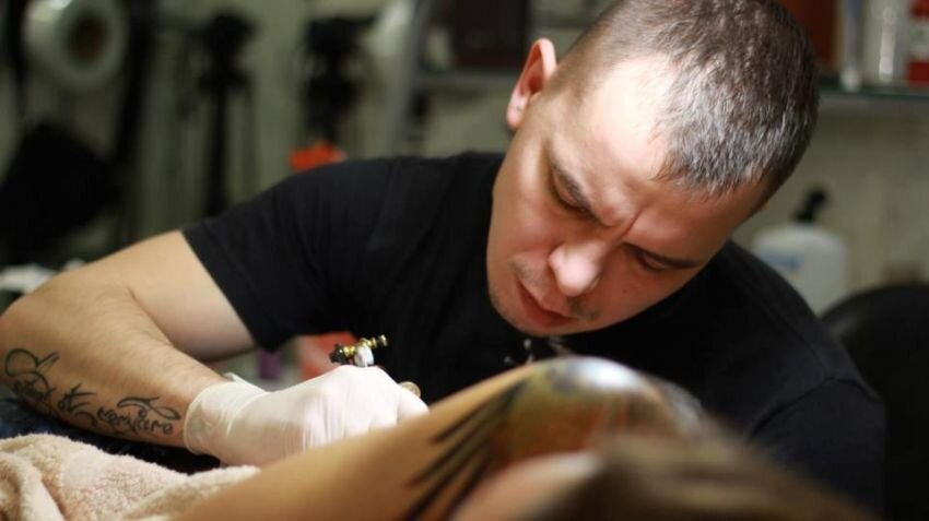 Ukranian tatoo-master and his stunning works