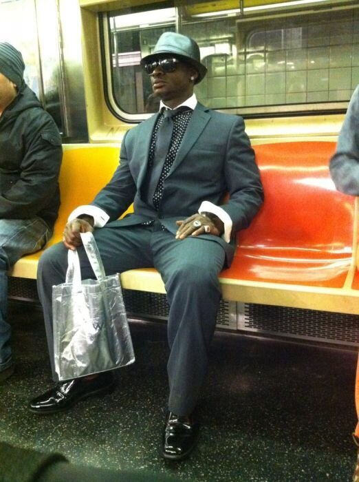 Fashion in subway
