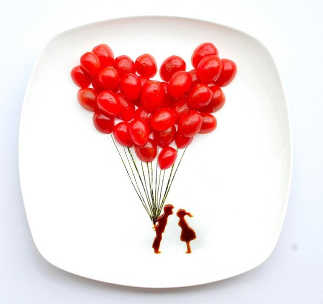 Amazing Art Made with Food