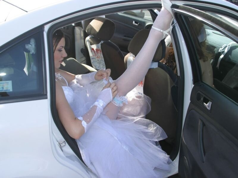 Brides and garters...