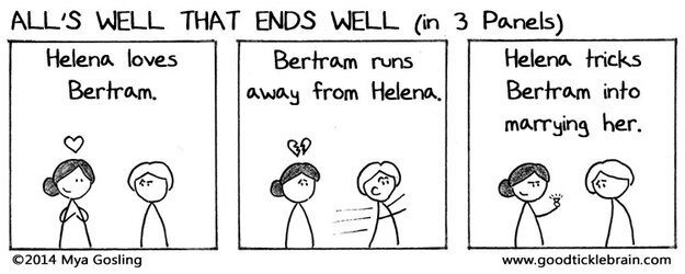 Do You Want To See All Of Shakespeare's Plays In Three Panel Comics?