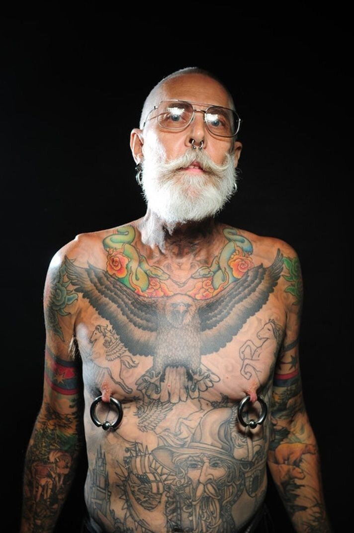 Senior Citizens Reveal What Tattoos Look Like on Aging Skin