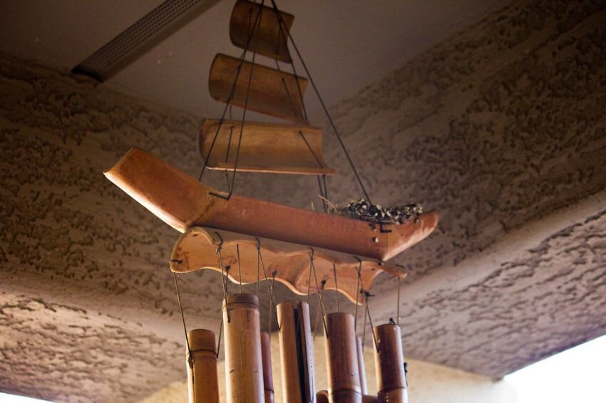 Pirate Ship Wind Chimes Get a Surprise Addition