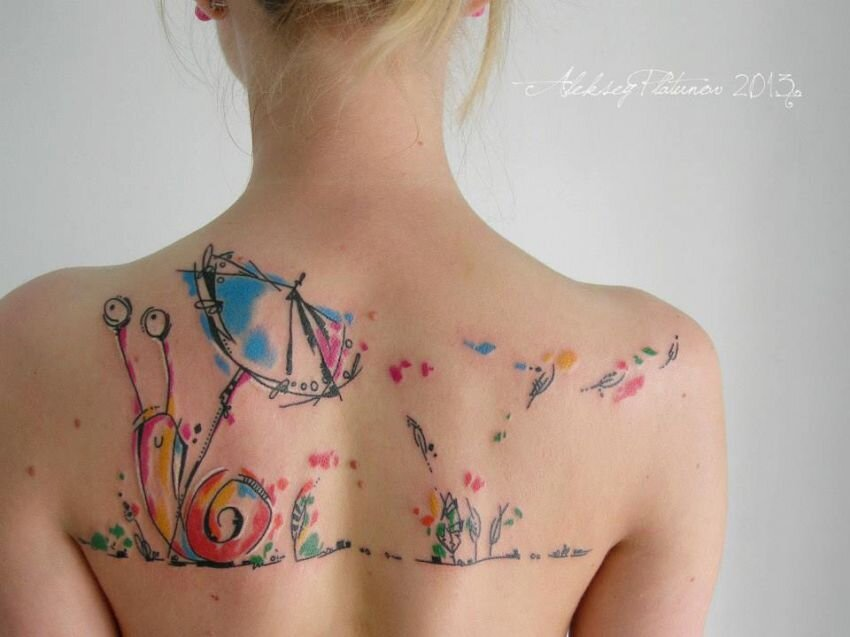 28 Incredible Watercolor Tattoos