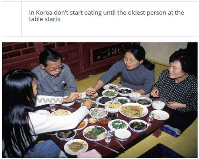 Eating Etiquette In Other Countries