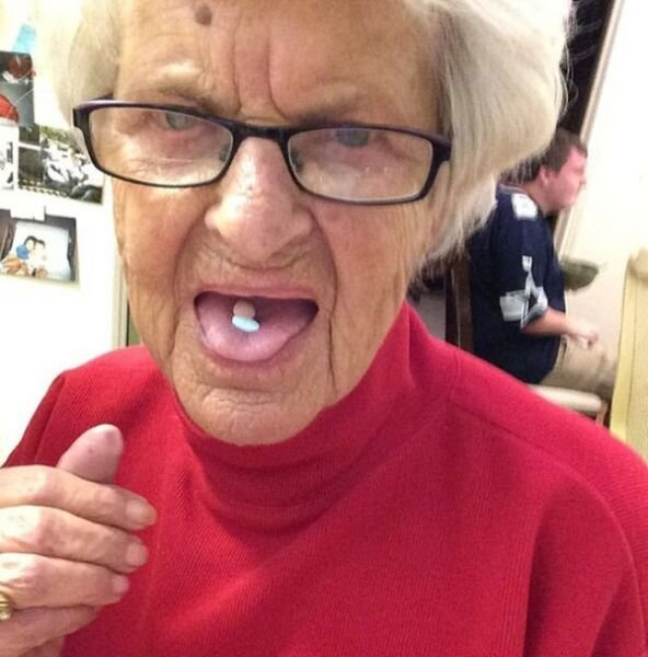 This Grandma Is Cooler Than Some Teens Read more at http://m.iz