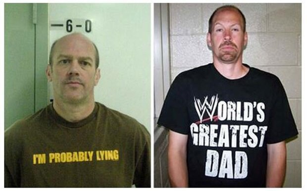 People Were Wearing The Most Unfortunate Shirts When They Got Arrested