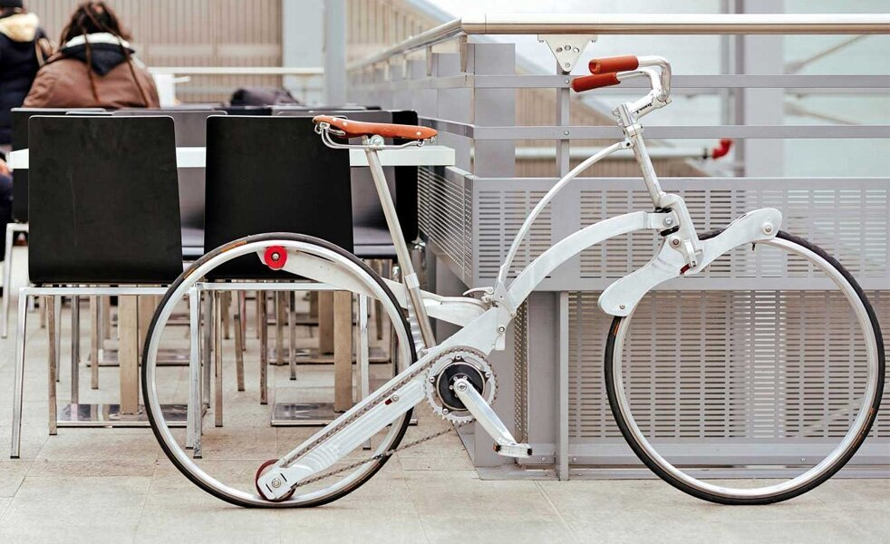 The spokeless bike
