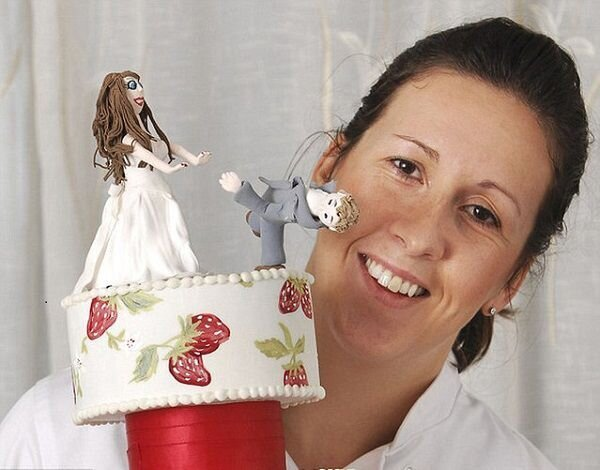 Divorce Cakes By Fay Millar