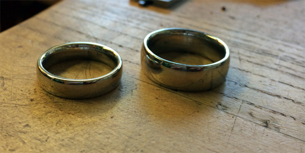 This Couple Wanted Their Wedding Bands To Be Special. So They Did THIS