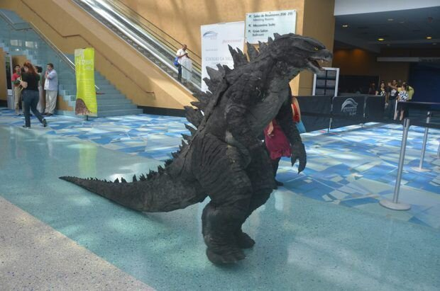 Dude builds legit Godzilla costume, and you can too