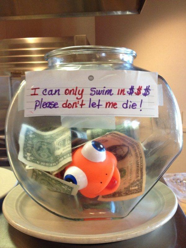 Here Are Genius Tip Jars Guaranteed To Make Customers Very Generous