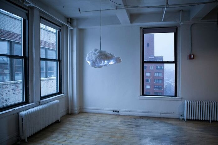 Incredible Lightning Cloud Lamp