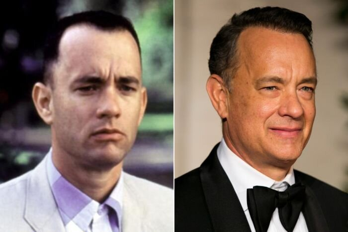 Cast Of Forrest Gump Back In The Day And Today