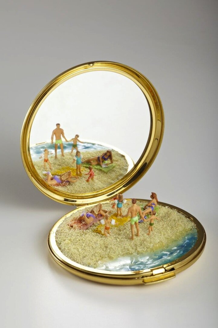 Playful Miniature Sculptures Inspire Imaginative Narratives