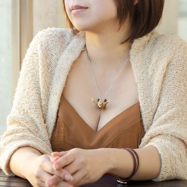 Naughty Pendants Look Like They're Plunging Into A Woman's Cleavage