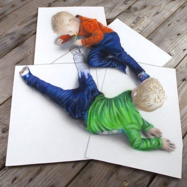 Ramon Bruin's 3D Illustrations