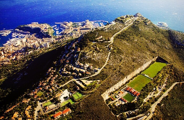 Amazing Football Field In Monaco