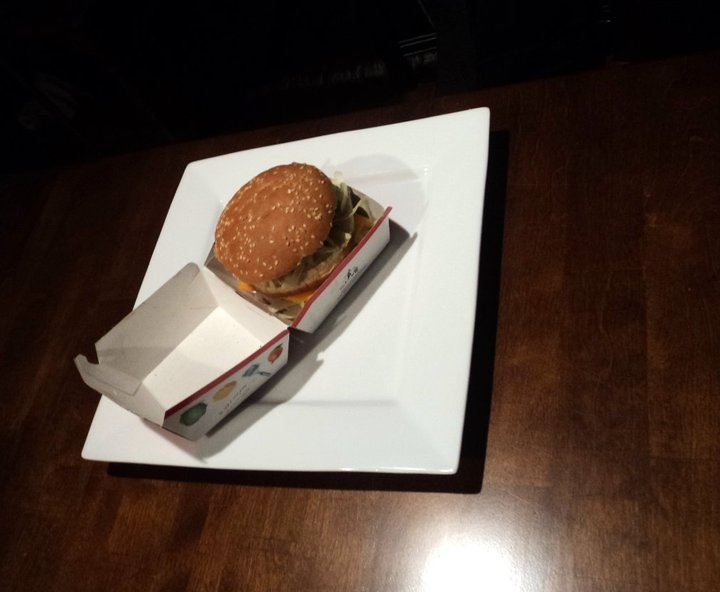 Two Guys Reconstruct McDonald's Meal Into Gourmet Cuisine
