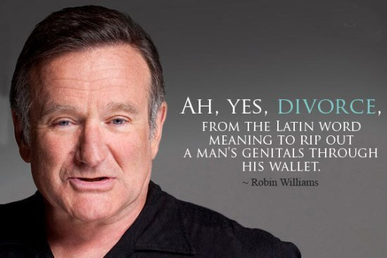 You said it best, Robin Williams