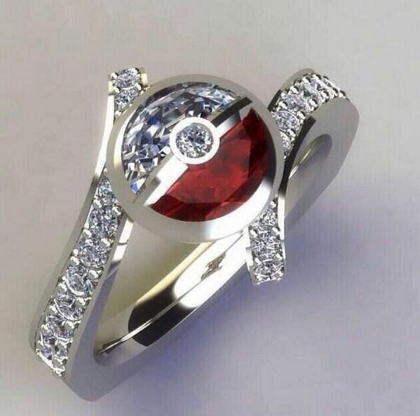 Wonderfully Geeky Engagement Rings