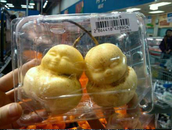 How Do They Make Buddha Shaped Pears In China?