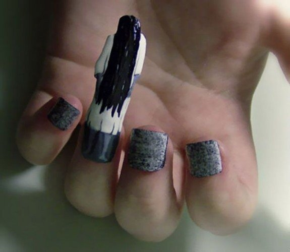 The Weirdest Nail Art Designs