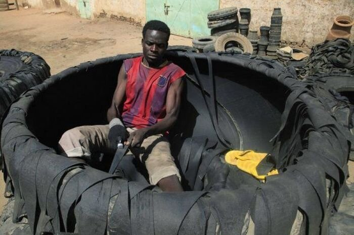 New Uses For Old Tires