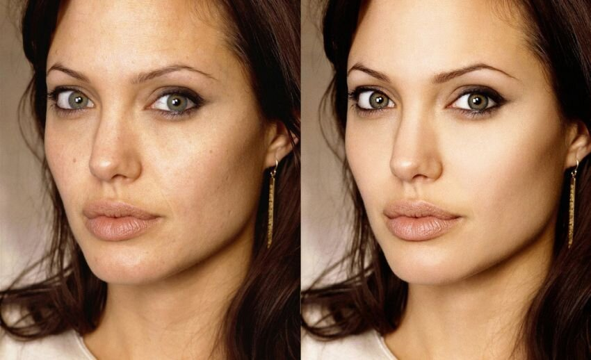 Here Are 20 Celebrities Before And After Photoshop.