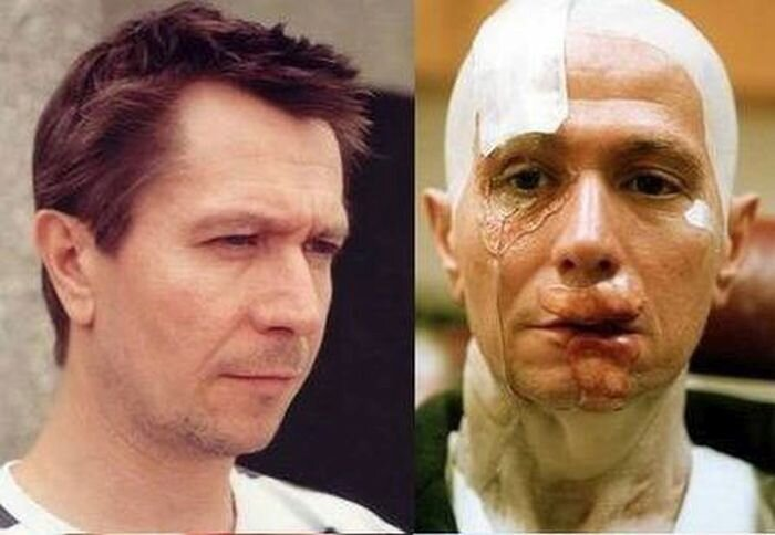 Gary Oldman's Amazing Makeup Transformation From Hannibal