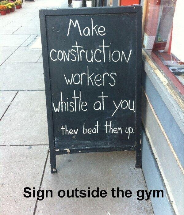 The funniest and most motivating gym signs