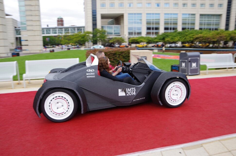 The World's First 3D-Printed Car Is Revolutionizing The Way We Travel