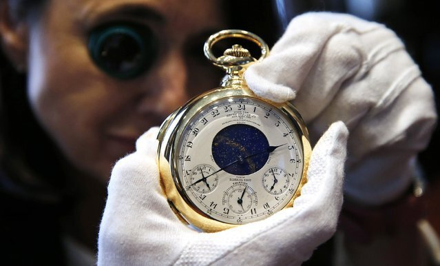 """The Henry Graves Supercomplication"" – a $17 Million Pocket Watch"