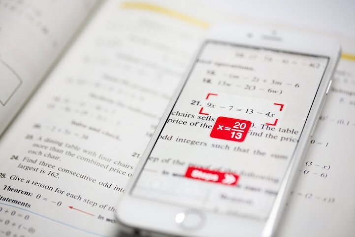 "Camera Calculator App ""PhotoMath"" Instantly Solves Math Equations"